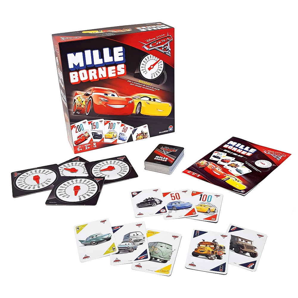 dujardin mille bornes cars 3 fran ais tf1 games suisse shopping site selling. Black Bedroom Furniture Sets. Home Design Ideas