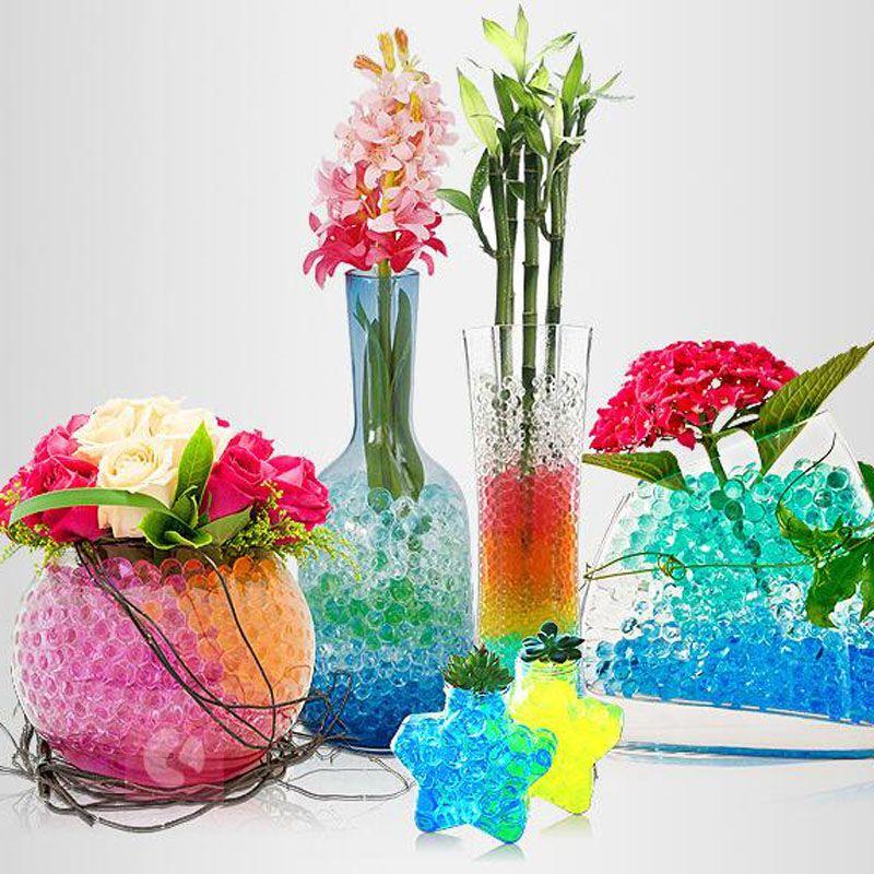 600 billes d 39 eau pour d corer vos vases ss2443450 suisse shopping site selling products online. Black Bedroom Furniture Sets. Home Design Ideas
