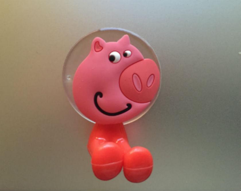 Porte brosse dents ventouse cochon suisse shopping site de vente en ligne de - Porte brosse a dent ventouse ...