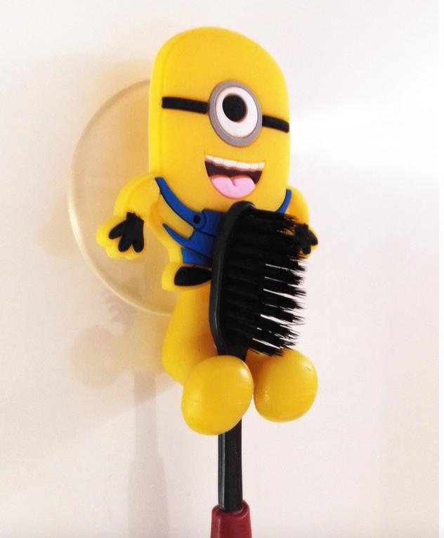 Porte brosse dents ventouse minion ss6639587m suisse shopping site de vente en ligne de - Porte brosse a dent ventouse ...