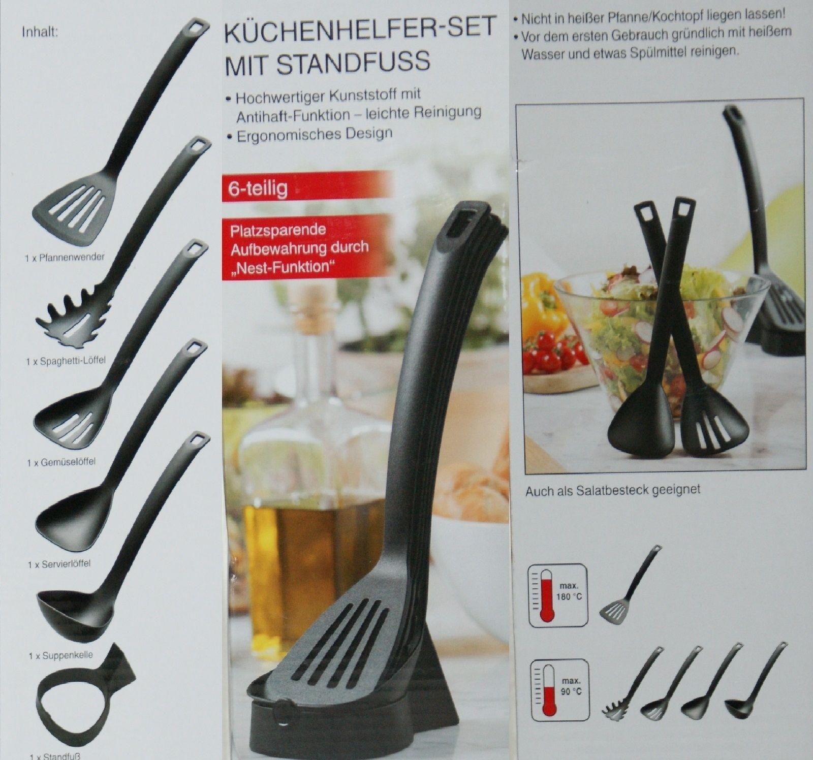 Set de 6 pi ces ustensile de cuisine avec support 2161276 - Support ustensile de cuisine ...